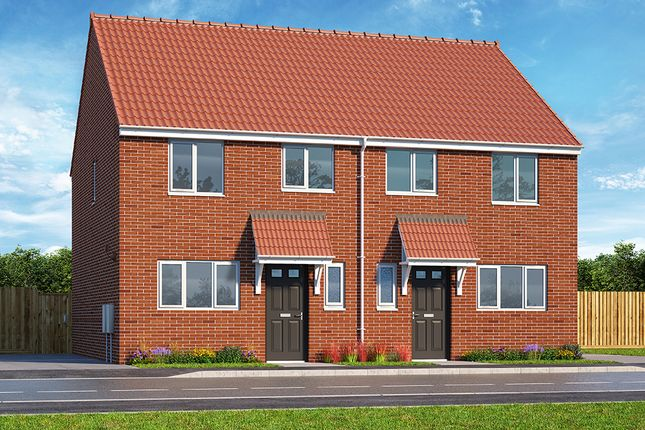 """3 bedroom property for sale in """"The Hadley"""" at Brook Park East Road, Shirebrook, Mansfield"""