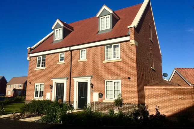 Thumbnail Semi-detached house to rent in Goldfinch Drive, Attleborough