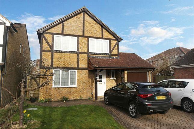 Thumbnail Detached house for sale in Wield Court, Lower Earley, Reading, Berkshire