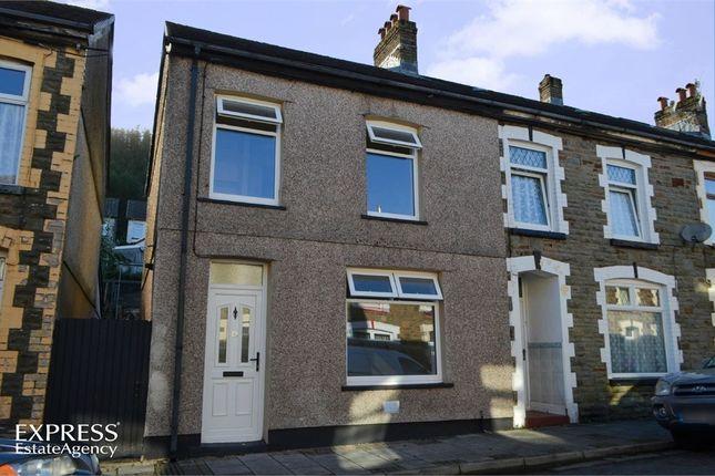Thumbnail End terrace house for sale in James Street, Maerdy, Ferndale, Mid Glamorgan
