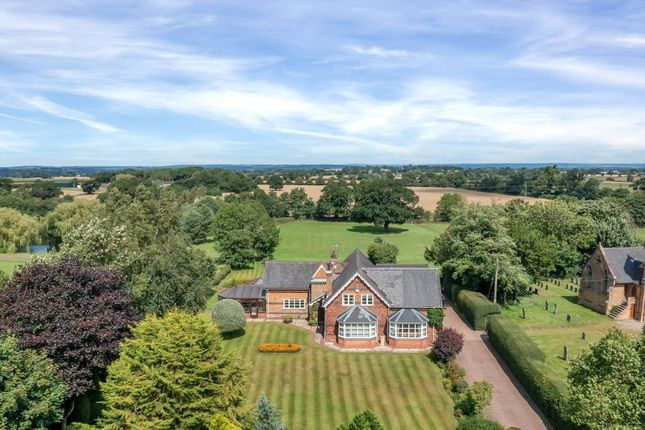 Thumbnail Detached house for sale in Knightley, Stafford