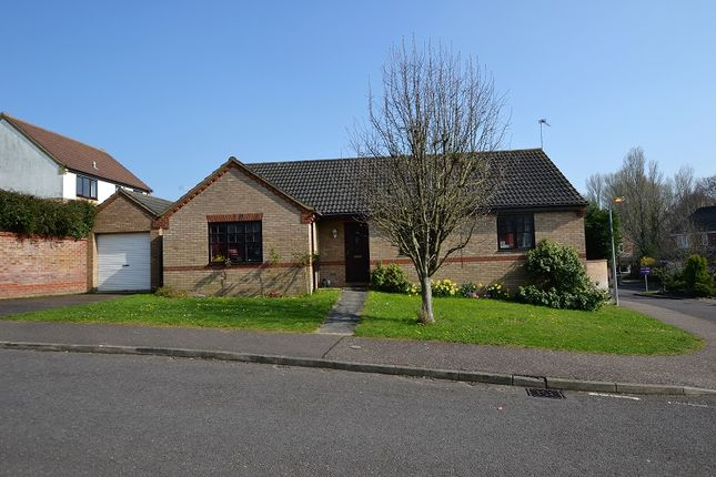 Thumbnail Detached bungalow for sale in Plantation Road, Fakenham, Norfolk.