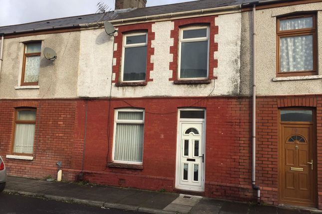 Thumbnail Terraced house to rent in Vivian Terrace, Port Talbot