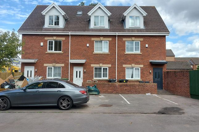 Thumbnail Town house for sale in Bessemer Road. Leckwith, Cardiff