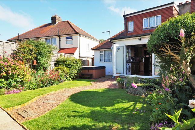 Thumbnail Semi-detached house for sale in Brasslands Drive, Brighton