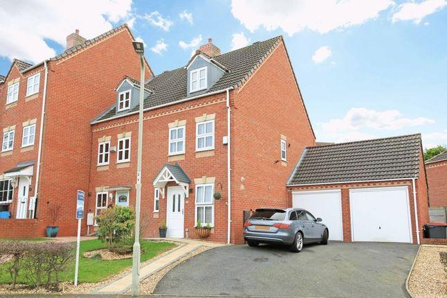 Thumbnail End terrace house for sale in Gresham Drive, Telford