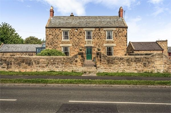Thumbnail Detached house for sale in Wansbeck Road, Ashington, Northumberland