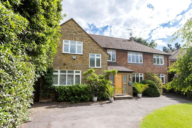 Thumbnail Detached house to rent in Coombe Neville, Coombe, Kingston Upon Thames