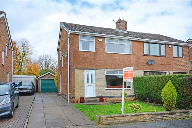 Thumbnail Semi-detached house for sale in St. Pauls Avenue, Hasland, Chesterfield