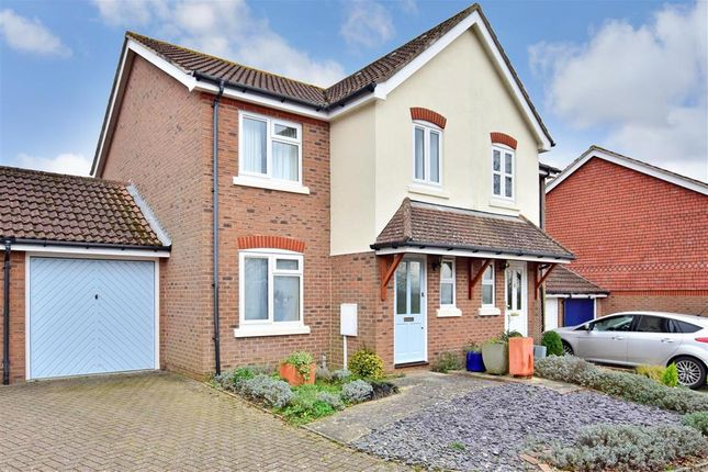 Thumbnail Semi-detached house for sale in Swan View, Pulborough, West Sussex