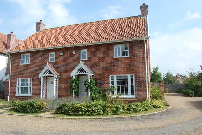 Thumbnail Semi-detached house for sale in Millers Way, Framlingham, Woodbridge