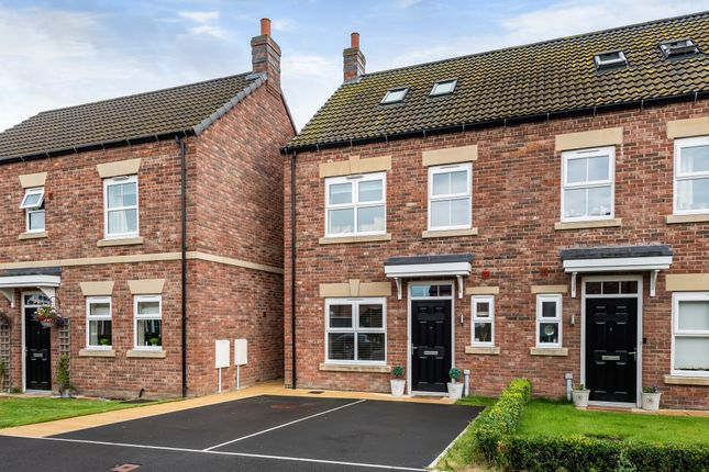 Thumbnail Semi-detached house for sale in Foundry Way, Leeming Bar, Northallerton, North Yorkshire