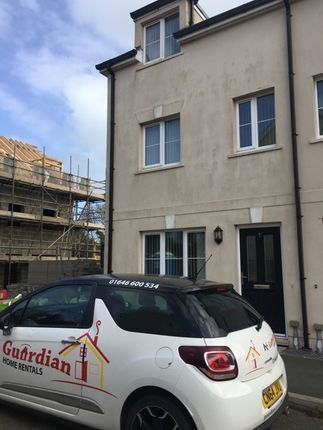 Thumbnail Town house to rent in Victoria Gardens, Johnston, Haverfordwest
