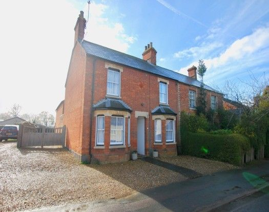 Thumbnail Semi-detached house to rent in High Street North, Stewkley, Leighton Buzzard