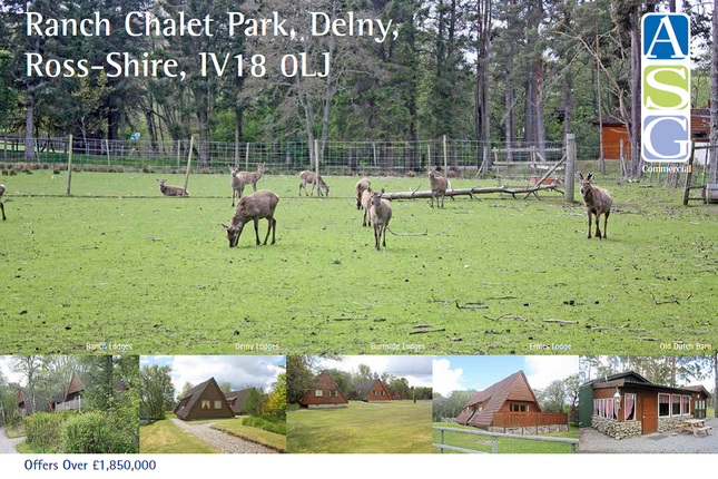 Thumbnail Leisure/hospitality for sale in Ranch Chalet Park, Delny, Near Invergordon