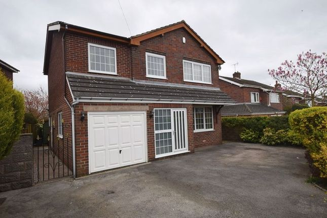 Thumbnail Detached house for sale in Moorland Avenue, Werrington, Stoke-On-Trent