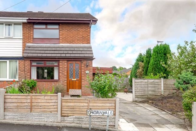Semi-detached house for sale in Thornvale, Abram, Wigan