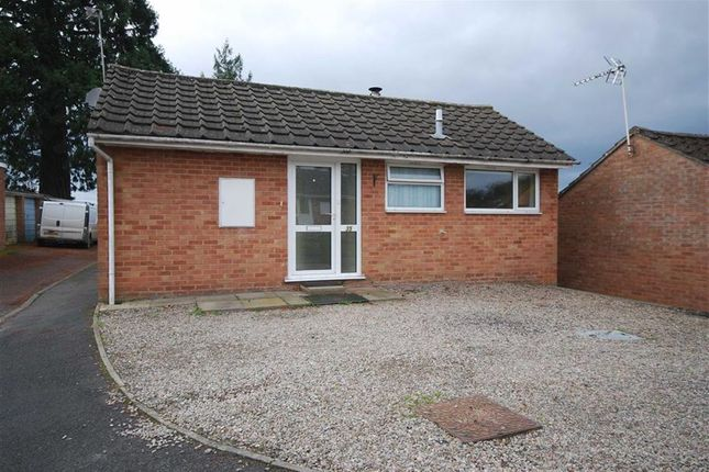 Thumbnail Detached bungalow to rent in Queens Court, Ledbury, Herefordshire