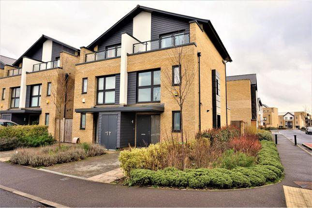 Thumbnail Semi-detached house for sale in Elderberry Close, Harold Wood, Romford