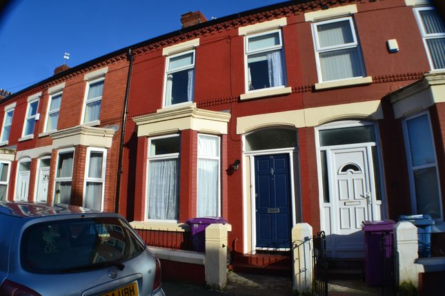 Thumbnail Terraced house to rent in Woodcroft Road, Smithdown, Liverpool