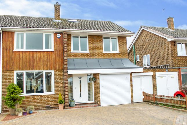 Thumbnail Semi-detached house for sale in Haddon Crescent, Chilwell, Nottingham