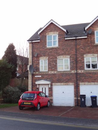 Thumbnail Town house to rent in St Benets Court. Perkinsville, Chester Le Street