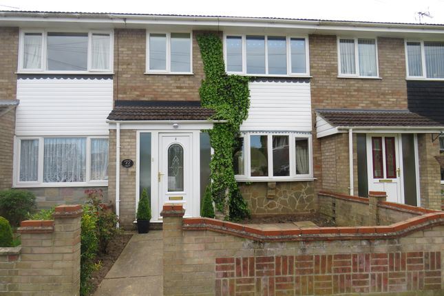 Thumbnail Terraced house for sale in Ranworth Close, Belton, Great Yarmouth