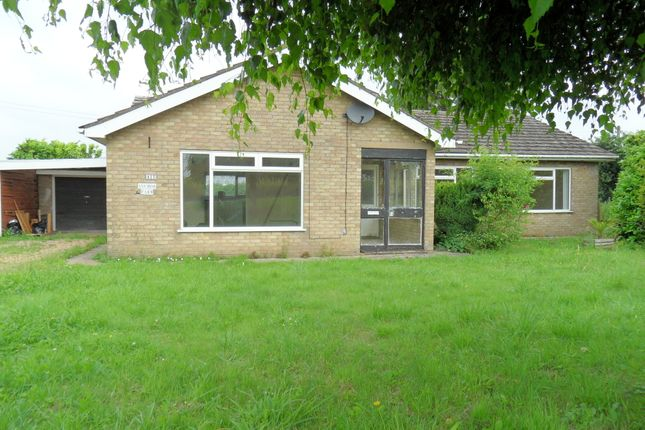 Thumbnail Detached bungalow for sale in North Brink, Wisbech, Cambridgeshire