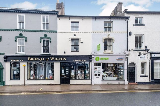 Thumbnail Flat to rent in High Street, Wigton