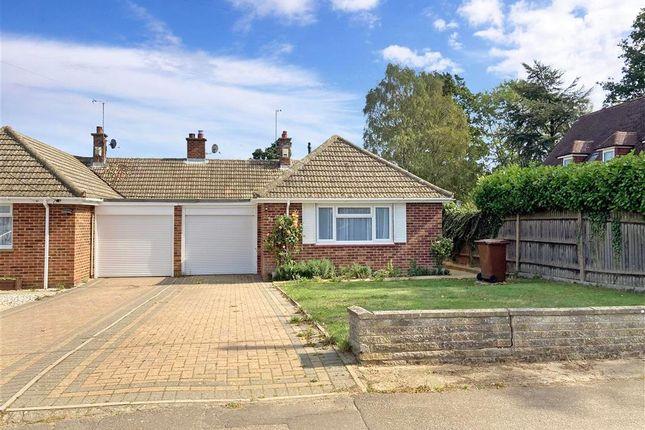 Thumbnail Semi-detached bungalow for sale in Elm Avenue, Chattenden, Rochester, Kent