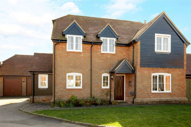 Thumbnail Detached house for sale in The Pightle, Peasemore, Newbury, Berkshire