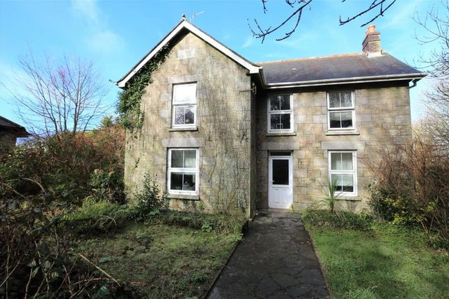 Thumbnail Detached house for sale in Vellynsaundry, Camborne