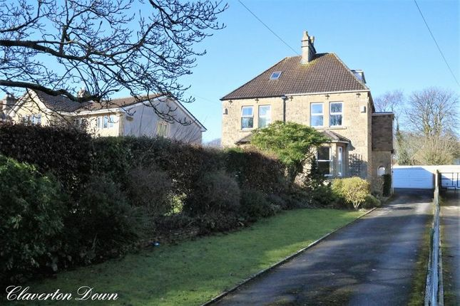 Thumbnail Semi-detached house for sale in Claverton Down Road, Claverton Down, Bath