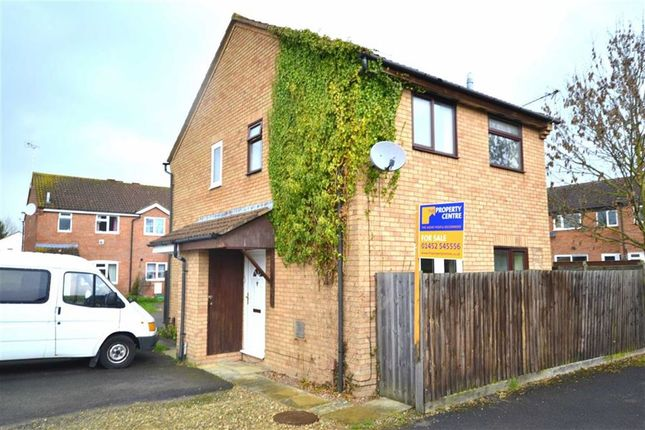 Thumbnail Semi-detached house to rent in Lower Meadow, Quedgeley, Gloucester