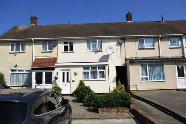Thumbnail Terraced house to rent in Cricklade Avenue, Romford, Essex