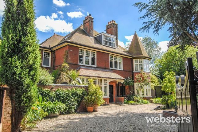 Thumbnail Detached house for sale in Church Avenue, Norwich