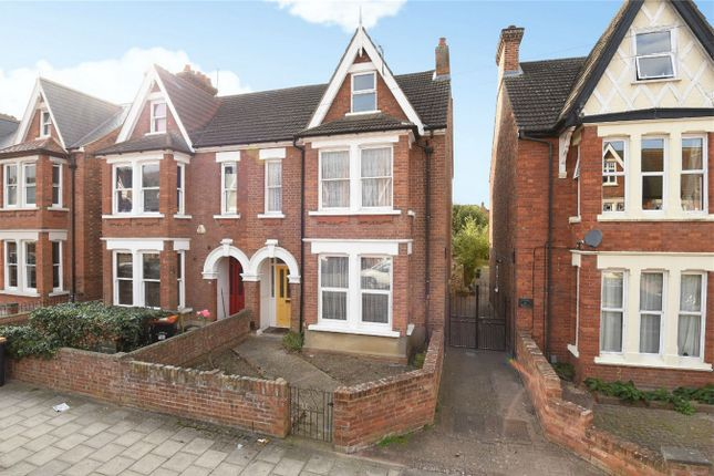 Thumbnail Semi-detached house for sale in St. Michaels Road, Bedford