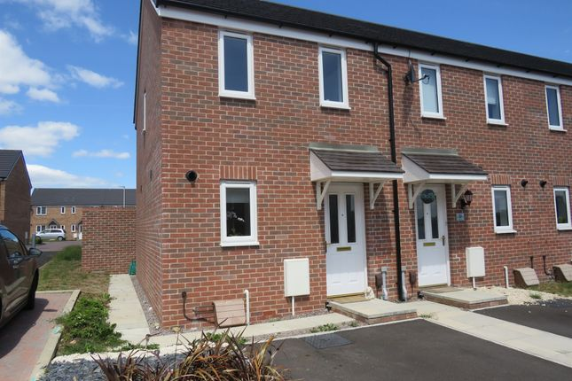 Thumbnail End terrace house for sale in Clos Maes Dyfan, Barry