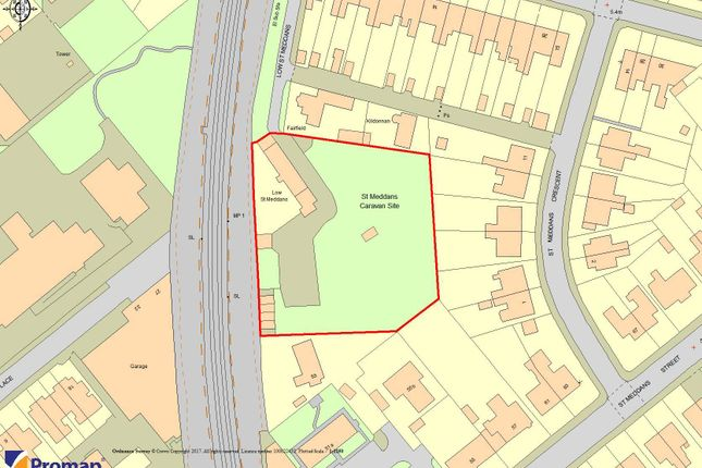 Thumbnail Land for sale in Low St. Meddan's, Troon
