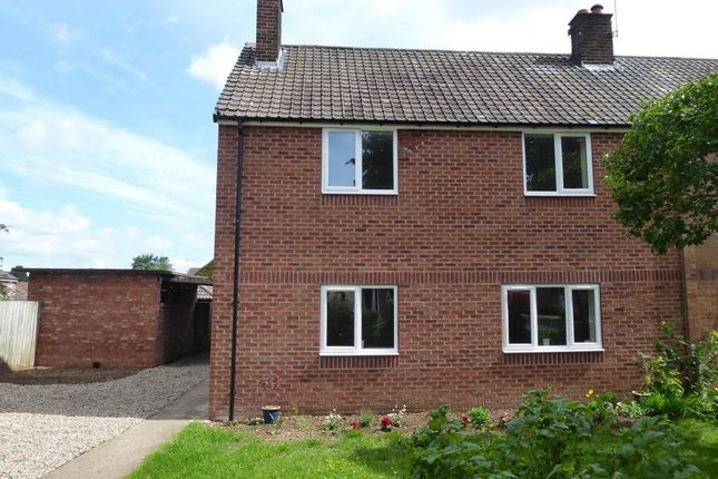 Thumbnail Semi-detached house for sale in Neile Close, Romanby, Northallerton