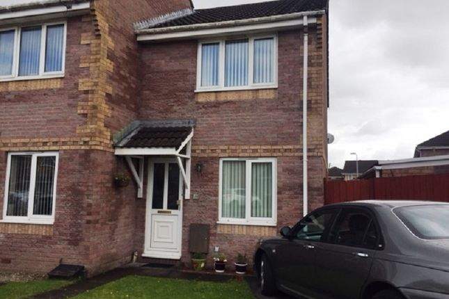 Thumbnail End terrace house to rent in Afandale, Port Talbot