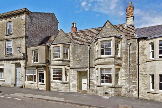 Thumbnail Terraced house to rent in High Street, Marshfield, Chippenham
