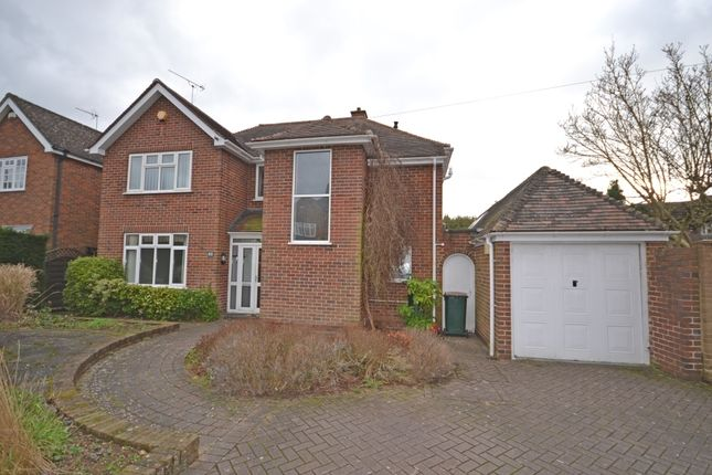 Thumbnail Detached house to rent in Armorial Road, Styvechale, Coventry