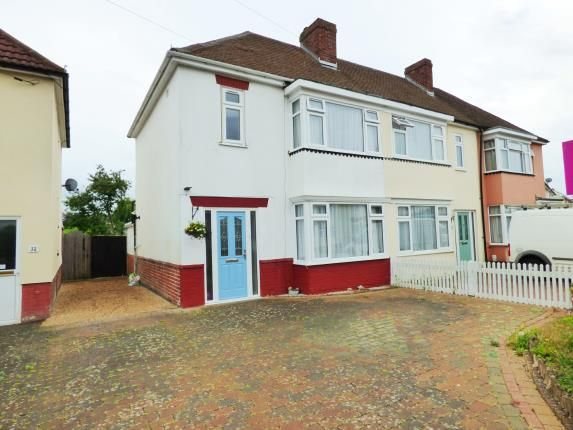 Thumbnail End terrace house for sale in Elson, Gosport, Hampshire