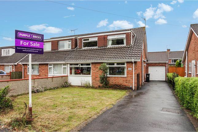 Thumbnail Semi-detached house for sale in Allerton Crescent, Whitchurch