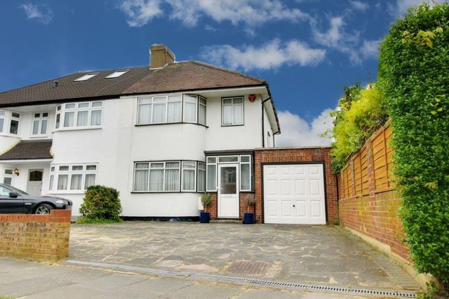 Thumbnail Semi-detached house for sale in Churchbury Lane, Enfield