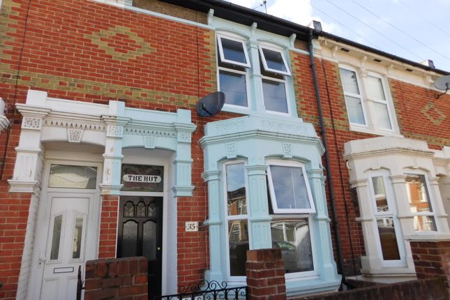 Thumbnail Terraced house to rent in Lynton Grove, Portsmouth