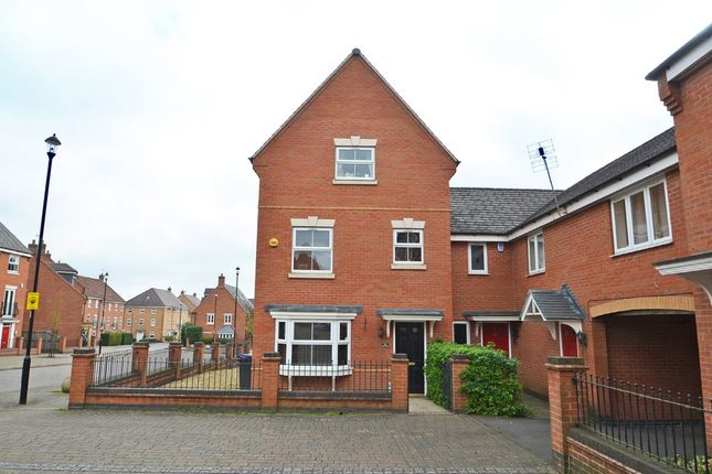 Thumbnail Semi-detached house for sale in Longstork Road, Coton Park, Rugby