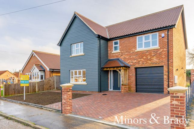 Thumbnail Detached house for sale in Orchard Avenue, Lowestoft