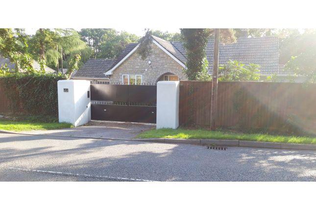 Gated Entrance of Hurn Lane, Ringwood BH24